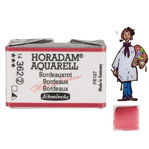 ACUARELA Horadam Godet BURDEOS S2.- 362