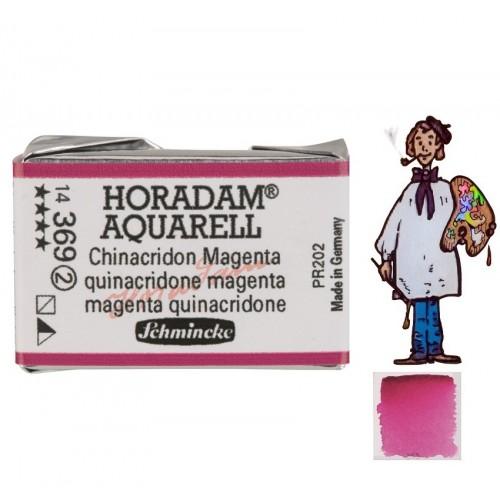 ACUARELA Horadam Godet MAGENTA QUINACRIDONA S2.- 369