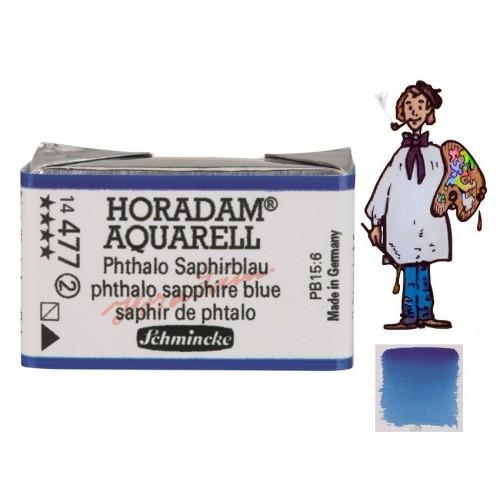 ACUARELA Horadam Godet  AZUL ZAFIRO FTALO S2. - 477