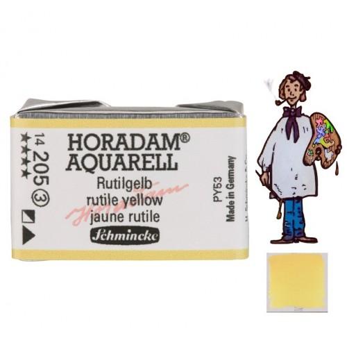 ACUARELA Horadam Godet  AMARILLO RUTILO  S3.- 205
