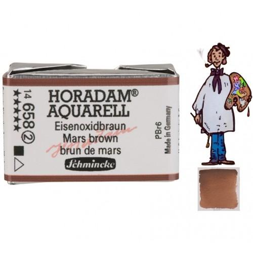 ACUARELA Horadam Godet  MARRÓN DE MARTE  S2.- 658