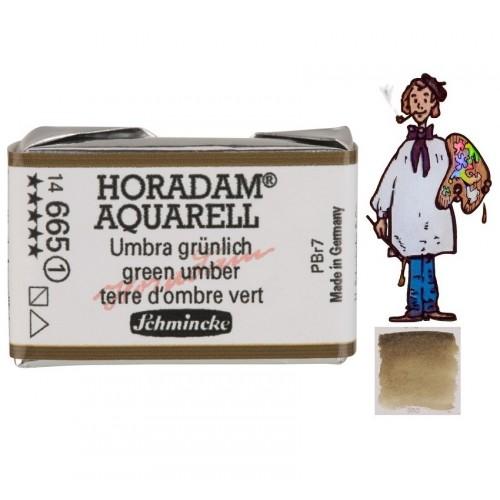 ACUARELA Horadam Godet TIERRA DE SOMBRA VERDE S1.- 665