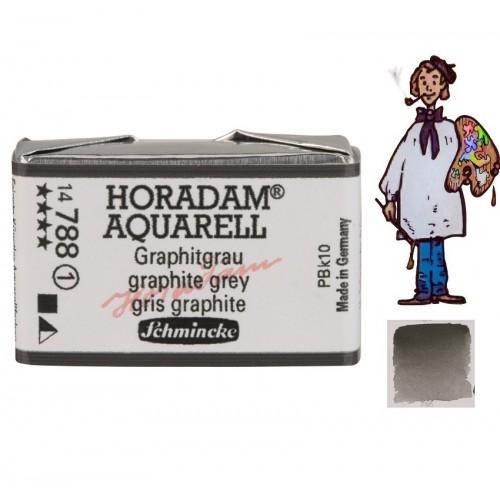 ACUARELA Horadam Godet  GRIS GRAFITO  S1 .- 788