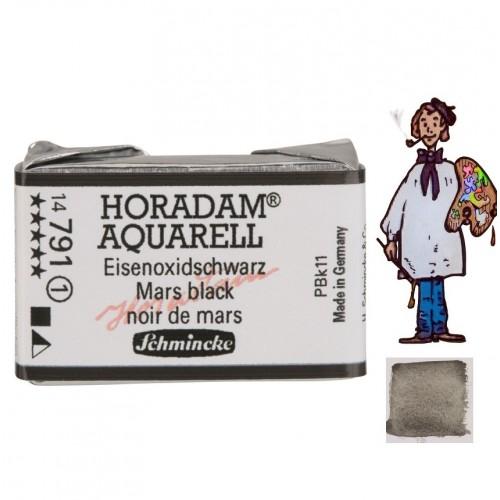 ACUARELA Horadam Godet  NEGRO DE MARTE  S1 .- 791