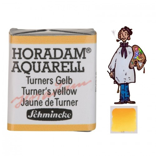 ACUARELA Horadam ½ Godet AMARILLO DE TURNER  S3.- 218