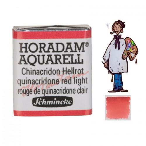 ACUARELA Horadam ½ Godet ROJO QUINACRIDONA CLARO  S3.- 343