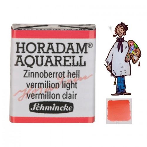 ACUARELA Horadam ½ Godet BERMELLÓN CLARO  S2.- 342