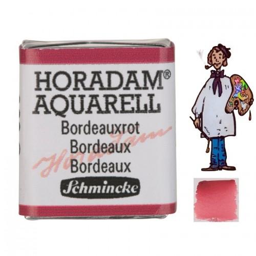 ACUARELA Horadam ½ Godet BURDEOS  S2.- 362
