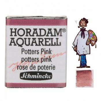 ACUARELA Horadam ½ Godet ROSA DE POTTER S3.- 370