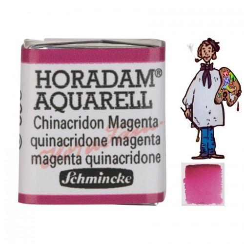 ACUARELA Horadam ½ Godet MAGENTA QUINACRIDONA  S2.- 369