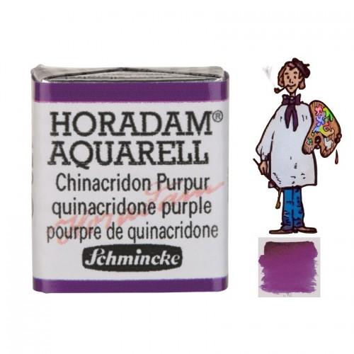 ACUARELA Horadam ½ Godet PURPURA DE QUINACRIDONA  S2.- 472