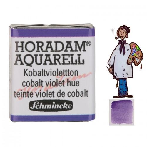 ACUARELA Horadam ½ Godet VIOLETA COBALTO TONO S3.- 473