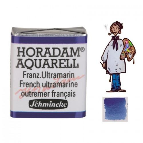 ACUARELA Horadam ½ Godet ULTRAMAR FRANCÉS  S2.- 493