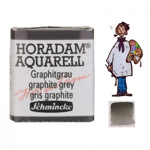 ACUARELA Horadam ½ Godet GRIS GRAFITO  S1 .- 788