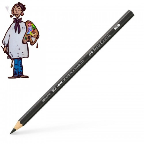 Faber Castell grafito acuarelable HB