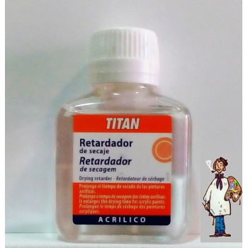 MEDIUM RETARDADOR DE SECADO 100ML TITAN