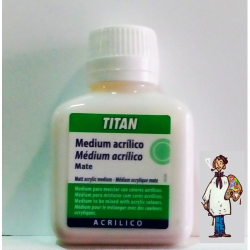 MEDIUM MATE 100ML TITAN