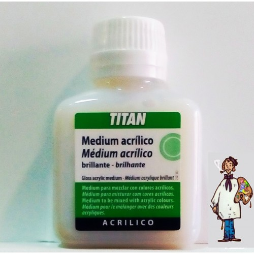 MEDIUM BRILLO 100ML TITAN