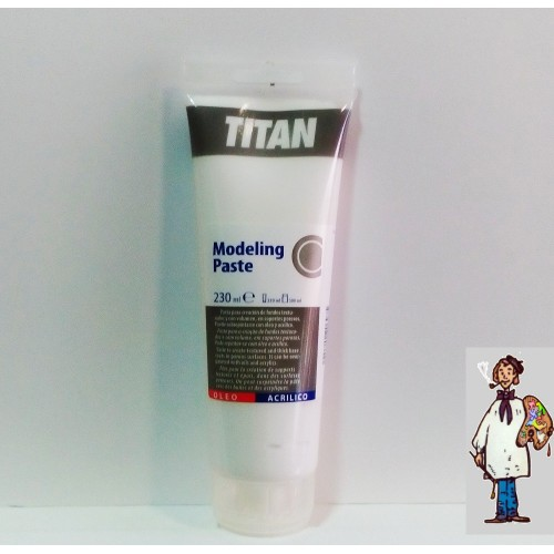 MODELING PASTE TUBO 230ML TITAN