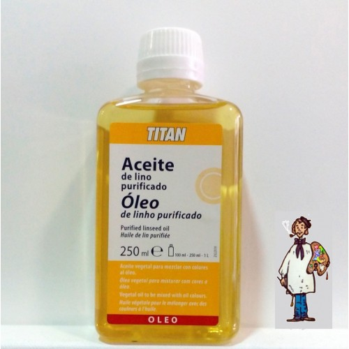 ACEITE DE LINO PURIFICADO TITAN 250ml