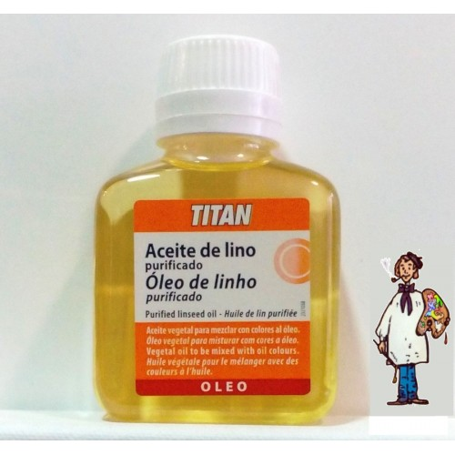ACEITE DE LINO PURIFICADO TITAN 100ml