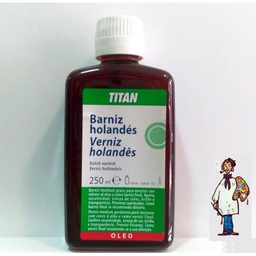 BARNIZ HOLANDÉS TITAN 250ML