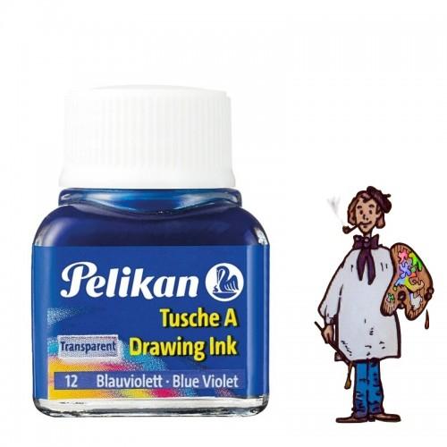 Tinta china Pelikan - Nº 12 Violeta