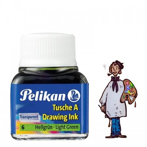 Tinta china Pelikan - Nº 6  Verde Claro