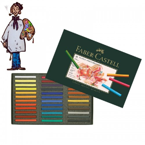 Caja  Pastel Faber Castell 36  colores