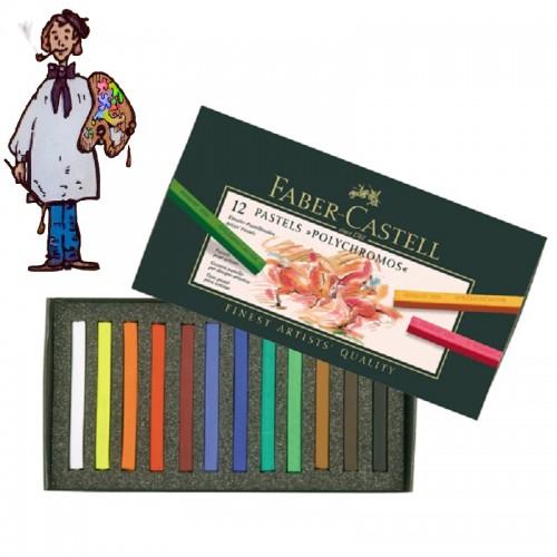 Caja  Pastel Faber Castell 12  colores