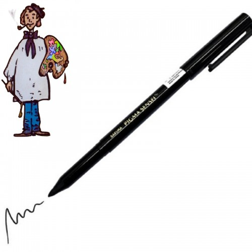Rotulador Pigma Sensei Negro 1,0 mm