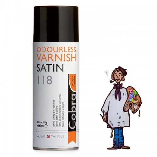 COBRA Barniz Spray SATINADO 400ML