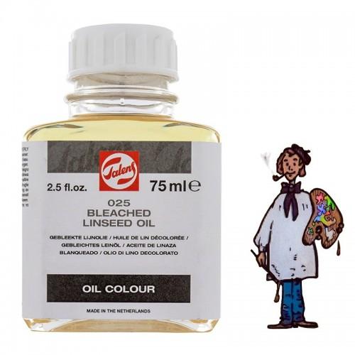 Talens aceite de linaza blanqueado 025 - 75ml