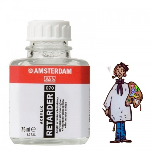 Amsterdam retardador para acrílico 070 - 75ml