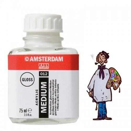 Amsterdam medio para acrílico brillante 012-75ml