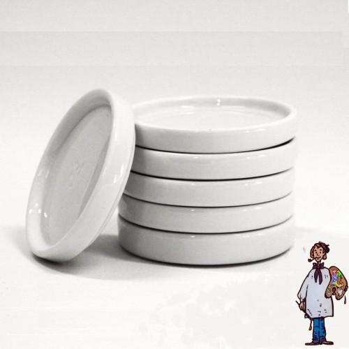 Set de 5 pocillos de porcelana