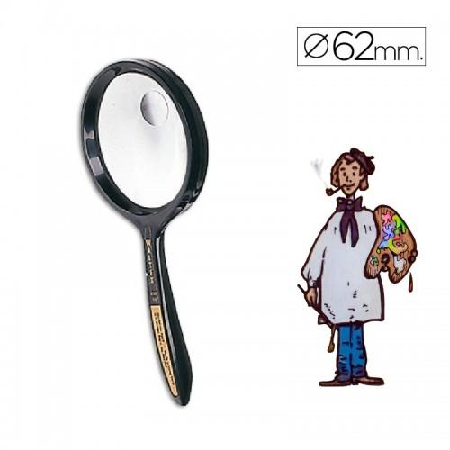 Lupa cristal bifocal 62 mm diámetro Waltex