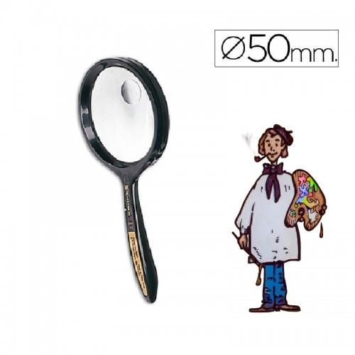 Lupa cristal bifocal 50 mm diámetro Waltex