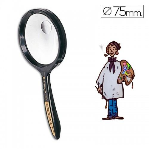Lupa cristal bifocal 75 mm diámetro Waltex
