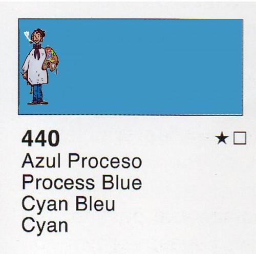 Acuarela liquida Vallejo 32 ml AZUL PROCESO