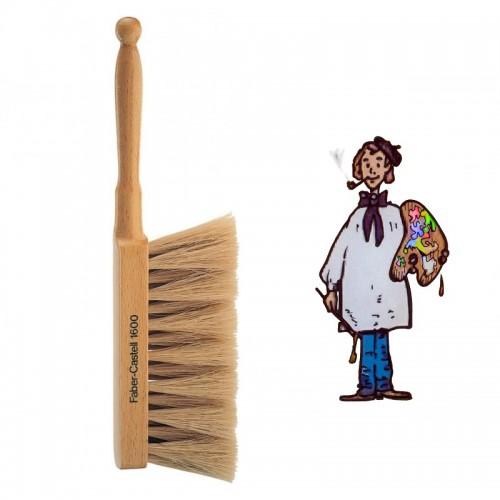 Cepillo para artistas FABER