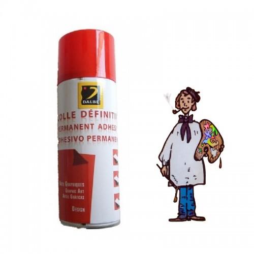 Pegamento adhesivo permanente en spray 400 ml Dalbe sin ácido