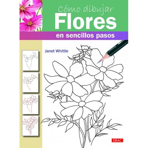 Cómo dibujar flores en sencillo pasos