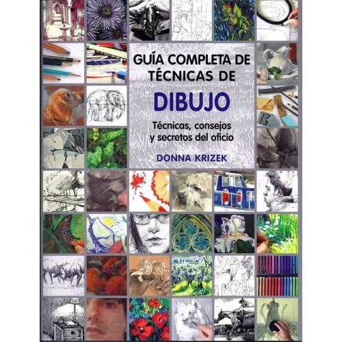 GUÍA COMPLETA DE TÉCNICAS DE DIBUJO