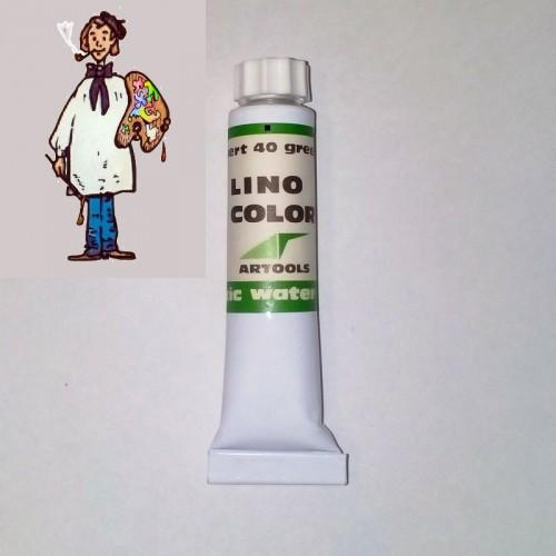Linocolor  al agua 20ml - verde 40