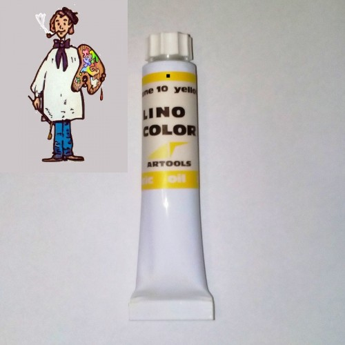 Linocolor  al óleo 20ml - amarillo 10
