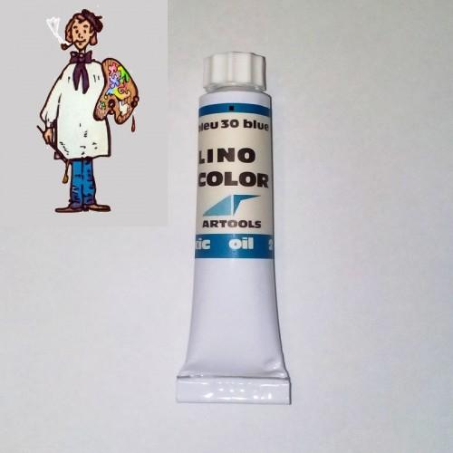 Linocolor  al óleo 20ml - azul 30