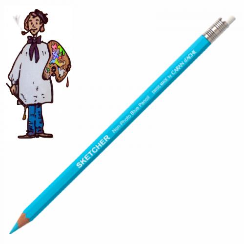 Lápiz Azul Sketcher Caran d'Ache