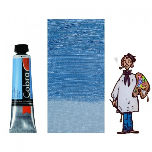 Cobra Artist 40ML AZUL REAL  517 - S3