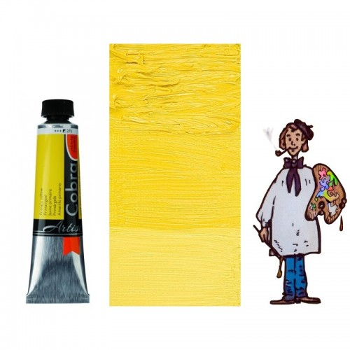 Cobra Artist 40ML AMARILLO PERMANENTE CLARO 283 - S2
